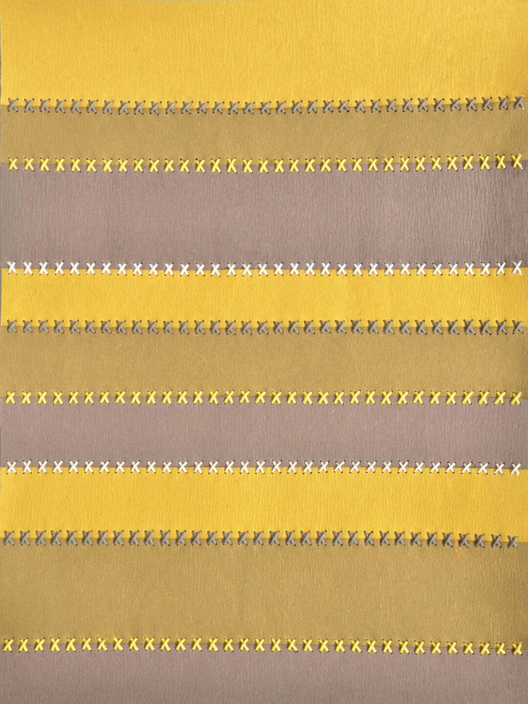 Belle Felted Wool rug in Taupe/Yellow