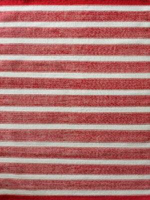 Bondi in Red. 100% Wool Flatweave Rug.