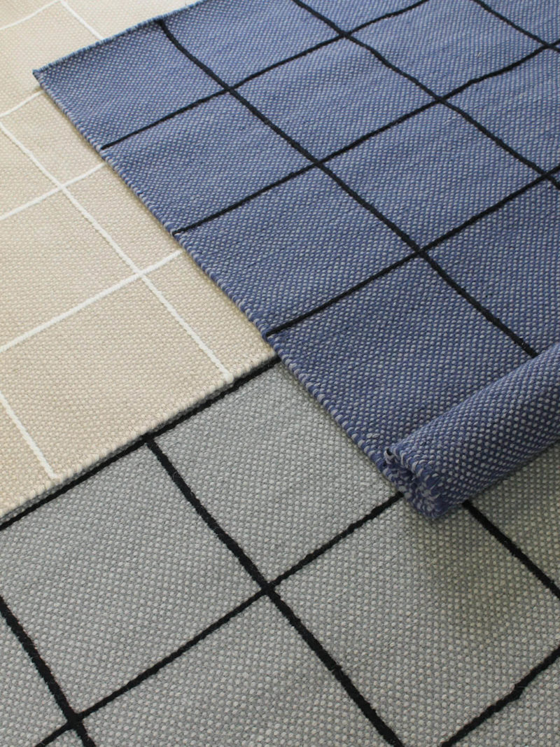 Resolve collection handmade rugs in pure 100% wool