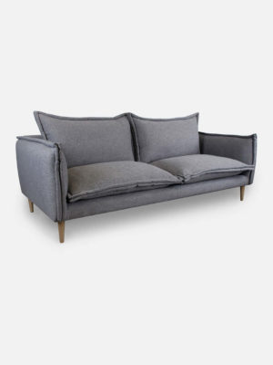 Jemina Sofa in Denim Grey fabric