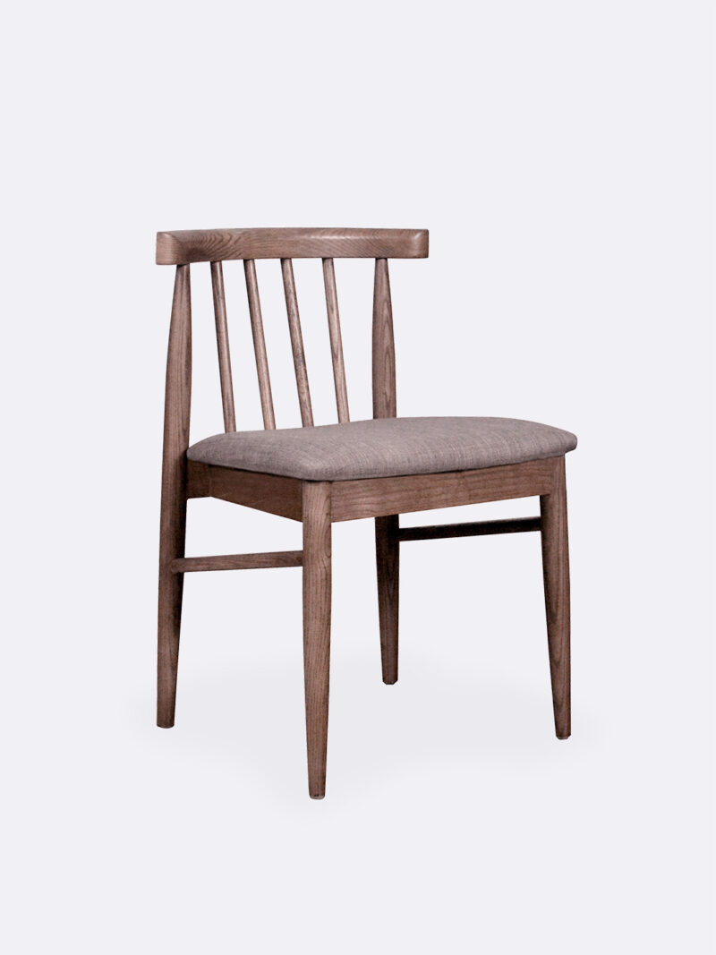 Oliver Dining Chair in Ashwood timber frame
