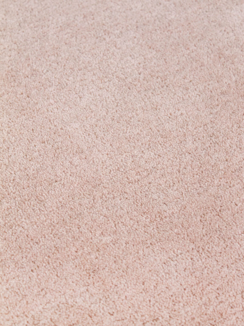 Neo rug handmade 100% wool in blush pink