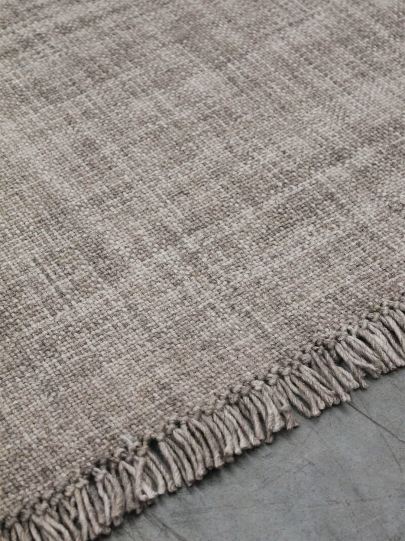 Positano Earth 100% wool handmade rug